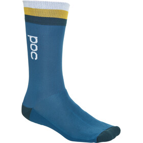 POC Essential Mid Length Socks Men antimony multi blue
